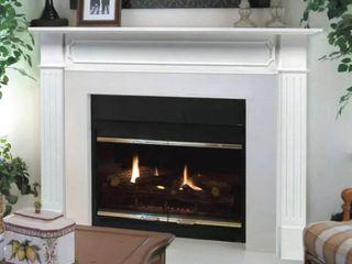 Berkley Fireplace Surround   White RETAIl  319
