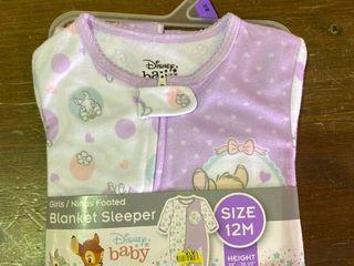 Girls   Ninaas Footed Blanket Sleeper 12M