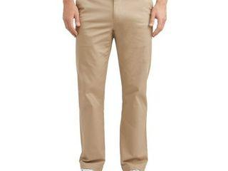 46X30 George Big Men s Premium Regular Fit Khaki Pant