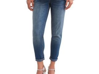 Time and Tru Maternity Full Panel Small Wash Skinny Jean