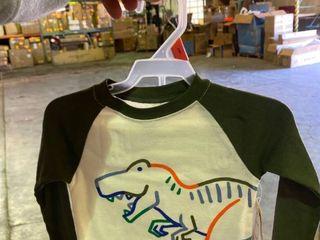 2T 2 Piece Set Dinosaur