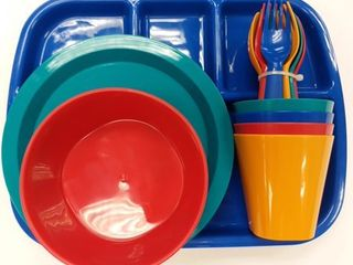 Mainstays Boy s Dinnerware Set  24 Piece