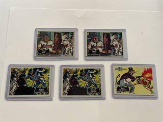 5  Batman Black Bat Collector Cards