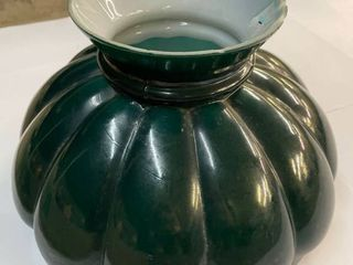 10  Antique Melon Glass lamp Shade  chipped