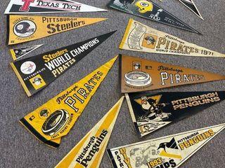 4  Pittsburgh Pirates Pennants 5  Pittsburgh Steelers Pennants 4  Pittsburgh Penguins Pennants