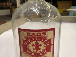 1  Gallon Eads Water Co  Jar
