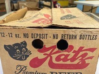 1  Katz Premium Beer Patio Pack Case