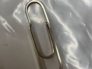 Tiffany Marked Paper Clip Money Clip Sterling
