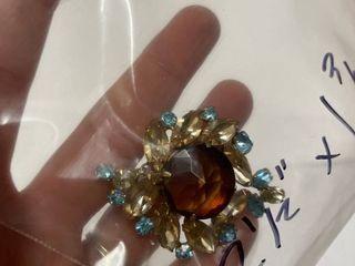 Regency Brooch Costume Jewelry