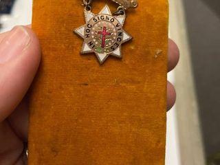 Masonic Knights Templar medal