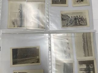 13  Real photo post cards dated 1918 1930 from the sailors stationed on the U S S Idaho