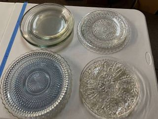 15  Glass Serving Trays