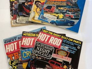7  1970 s and 1980 s Hot Rod Magazines