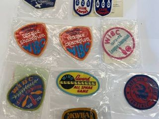 10  Bowling Patches lot  1