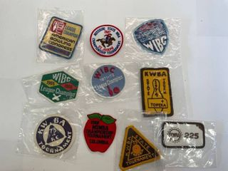 10  Bowling Patches lot  2