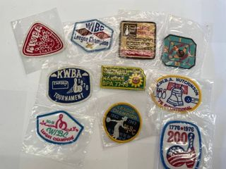 10  Bowling Patches lot  3