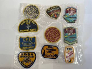 10  Bowling Patches lot  4