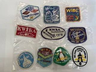 10  Bowling Patches lot  5