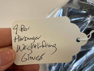 9  Pair Harbinger Weight lifting Gloves