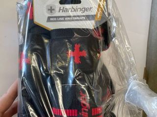 8  Pair Harbinger Red line Weight lifting Wrist Wrap Straps