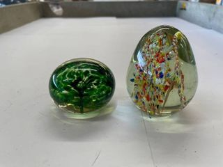 2  paper weights