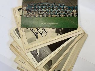30  1969 1970 Baltimore Colts Photographs
