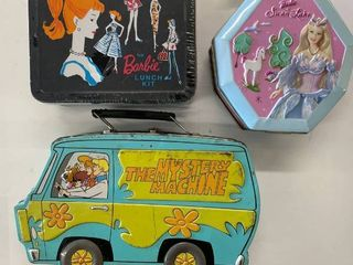 3  Metal lunch Boxes Kits