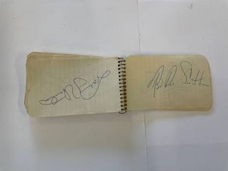 Baltimore Colts Autograph Book  1