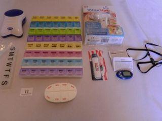 WaxVac  Walkfit  Pill Boxes