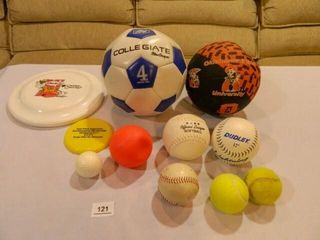 Soccer  Mini Basketball  Softballs
