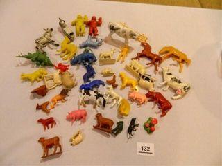 Plastic Farm Animals  Jungle Animals