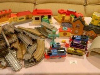 Train Set  Replica Building  Trains