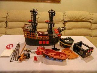 Fisher Price Pirate Ship  c 2006