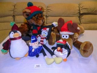 Christmas Plush Animals   6