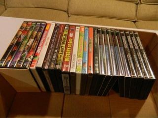 DVD s 20  Assorted Titles
