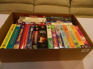 VHS Tapes 20  Assorted Titles
