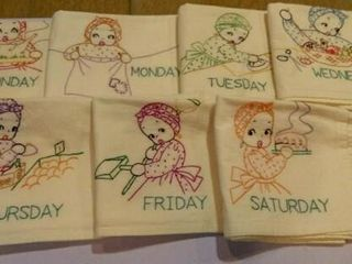 Embroidery Dish Towels   7