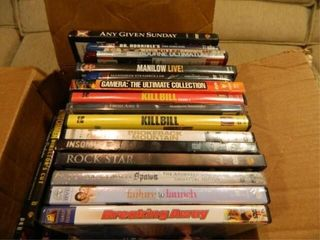 DVD s  50  Assorted Titles
