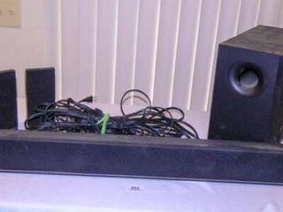 Vizeo Sound System w Sound Bar