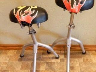 Bicycle Seat Stools  2