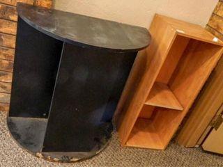 TV Stand  2 Shelf Unit Particle Board