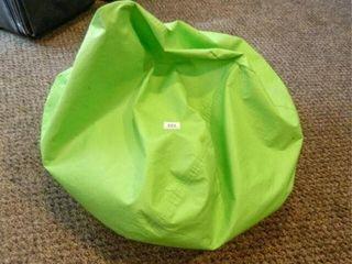 Bean Bag  lime Green  Vinyl