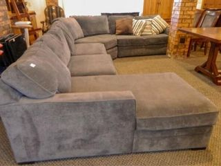 Juno 4 Piece Sectional  Gray