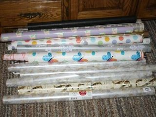 Rolls of Gift Wrap  15