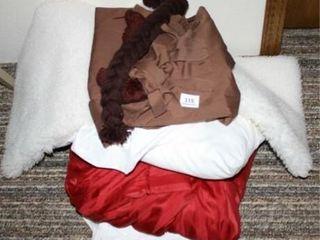 Bed linens  Rug