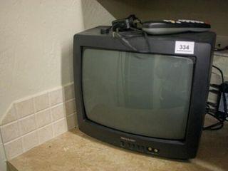 Small tv  13  from corner to corner