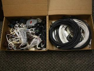 Coaxial Cables  Extension Cords  Household Cords