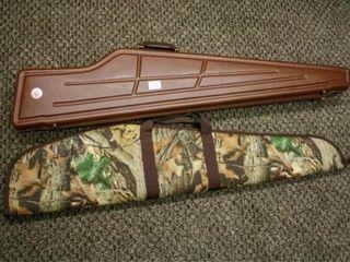 Rifle Cases  Plastic  Camoflauge  Zipper closures