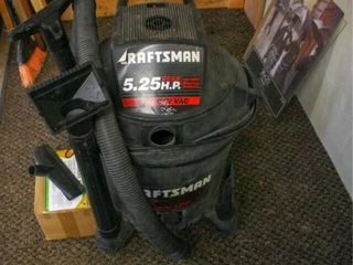 Craftsman ShopVac with Extra Filter and Hose