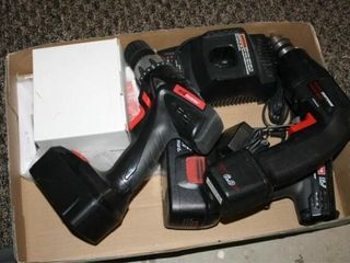 Cordless Drills and Batteries